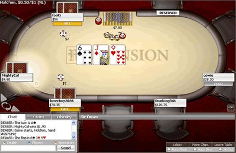Игровой стол на Mansion Poker